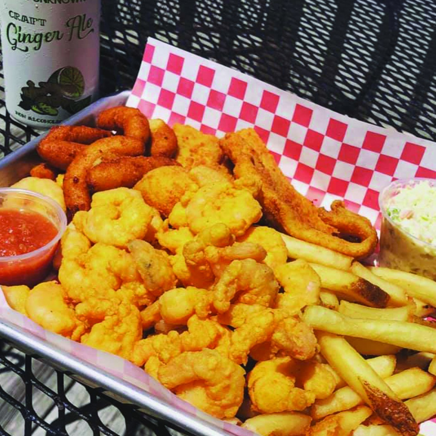 Shrimp & Flounder Basket